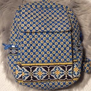 Vera Bradley Riviera Blue Backpack